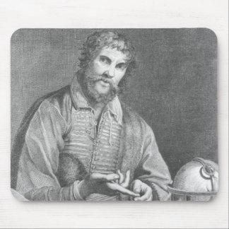 Portrait of Michel de Nostradame Mouse Mat