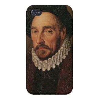 Portrait of Michel Eyquem de Montaigne Cases For iPhone 4