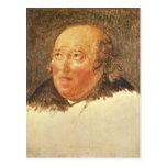 Portrait of Michel Gerard Post Card