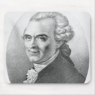 Portrait of Michel-Jean Sedaine Mouse Pad