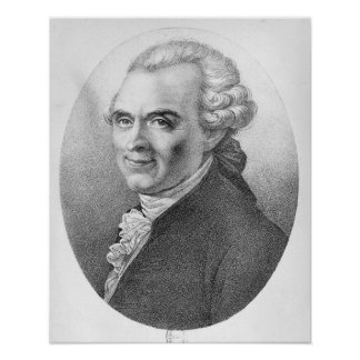 Portrait of Michel-Jean Sedaine Poster