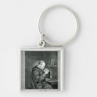 Portrait of Michel Nostradamus Key Chain