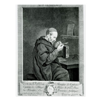 Portrait of Michel Nostradamus Postcard