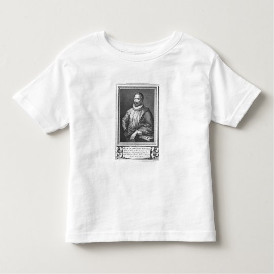 Portrait of Miguel de Cervantes Saavedra Toddler T-Shirt