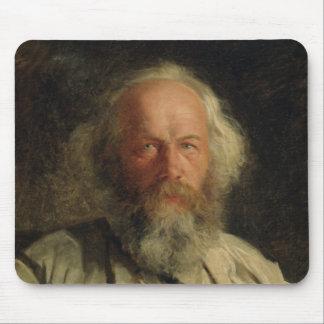 Portrait of Mikhail Alexandrovich Bakunin  1871 Mouse Mat