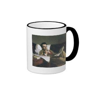 Portrait of Mikhail Glinka Ringer Mug