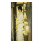 Portrait of Miss Lloyd by Tissot, Victorian Art Posters