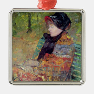 Portrait of Mlle C. Lydia Cassatt, 1880 Christmas Ornament