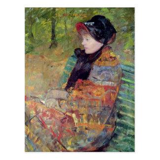 Portrait of Mlle C. Lydia Cassatt, 1880 Postcard