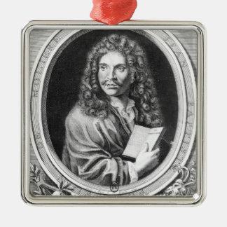 Portrait of Moliere Christmas Ornament