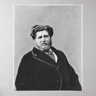 Portrait of Monsieur de Tourguenef Poster