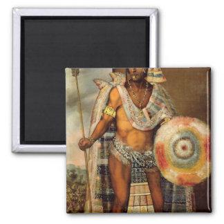 Portrait of Montezuma II Magnet