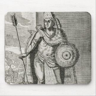 Portrait of Montezuma II Mouse Pad