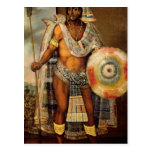 Portrait of Montezuma II Postcard