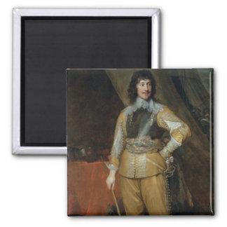 Portrait of Mountjoy Blount, Earl of Newport (c.15 Square Magnet