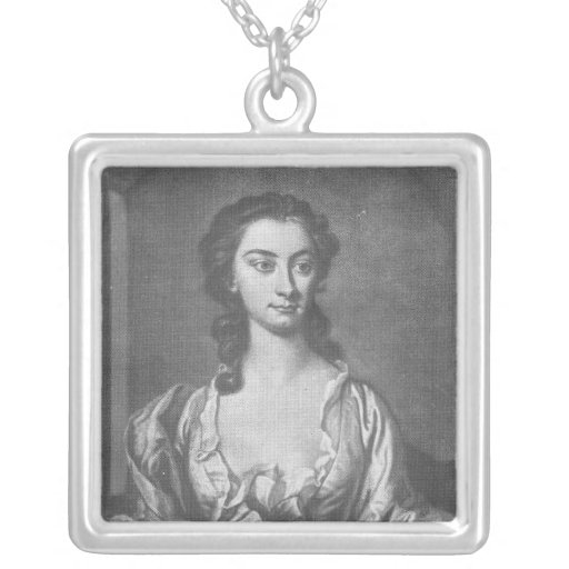 Portrait of Mrs Cibber, Actress and Singer Custom Jewelry