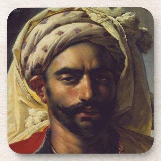 Portrait of Mustapha Coaster