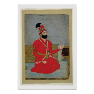 Portrait of Nadir Shah Afshar of Persia (1688-1747 Poster