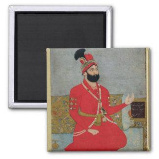 Portrait of Nadir Shah Afshar of Persia (1688-1747 Square Magnet