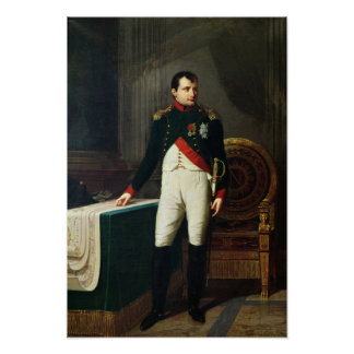Portrait of Napoleon Bonaparte  1809 Poster