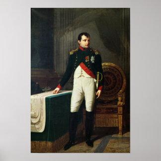 Portrait of Napoleon Bonaparte  1809 Poster