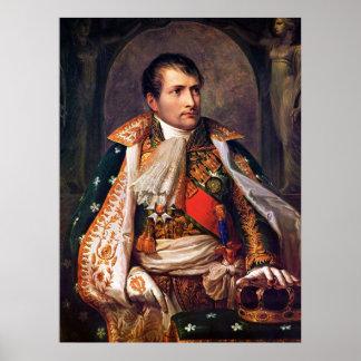 Portrait of Napoleon Bonaparte by Andrea Appiani Poster