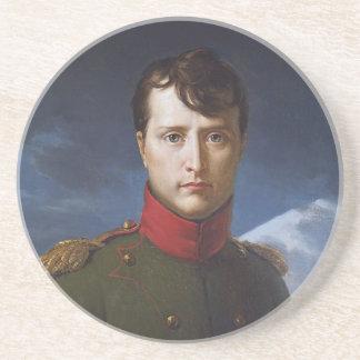 Portrait of Napoleon Bonaparte First Consul Coasters