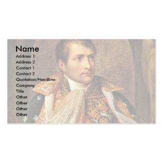 Portrait Of Napoleon By Andrea Appiani Business Card