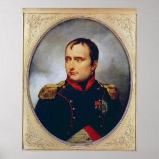 Portrait of Napoleon I , 1815 Poster