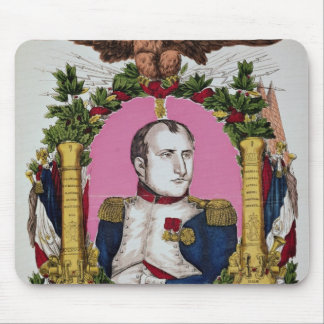 Portrait of Napoleon I  in  Battle of Mouse Pad