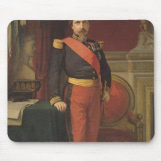 Portrait of Napoleon III  1862 Mouse Mat