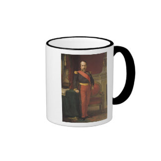 Portrait of Napoleon III  1862 Ringer Coffee Mug