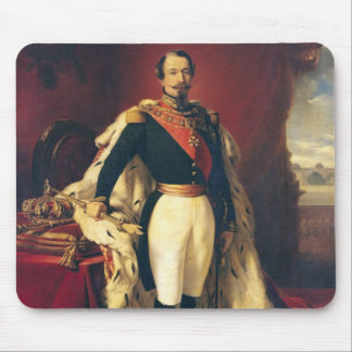 Portrait of Napoleon III  Emperor of France Mouse Mat