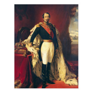 Portrait of Napoleon III  Emperor of France Postcard