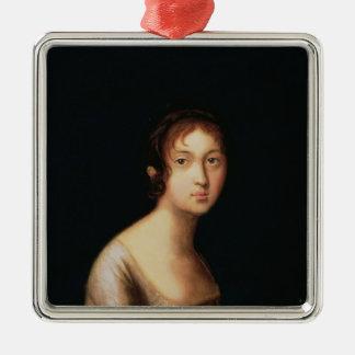 Portrait of Natalia Goncharova, 1820s Christmas Ornament