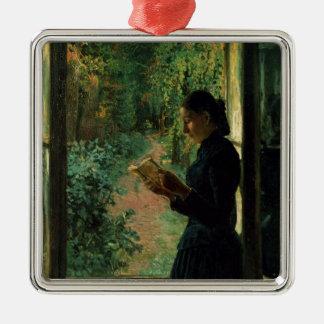 Portrait of Natalia Petrunkevitsin, 1893 Christmas Ornament