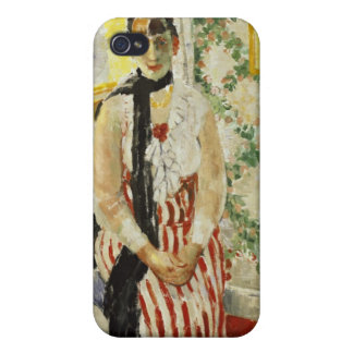 Portrait of Nel Wouters 1912 Case For iPhone 4