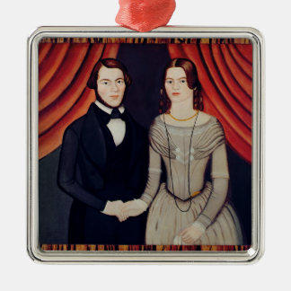 Portrait of Newly-weds Ornament