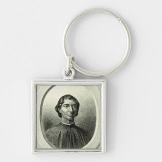 Portrait of Niccolo Machiavelli Keychains