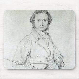 Portrait of Niccolo Paganini  1819 Mouse Pad