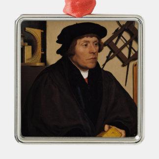 Portrait of Nicholas Kratzer  1528 Christmas Ornament