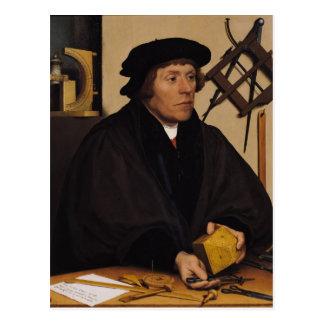 Portrait of Nicholas Kratzer  1528 Postcard