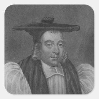 Portrait of Nicholas Monck Square Sticker