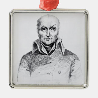 Portrait of Nicolas Appert Christmas Ornament