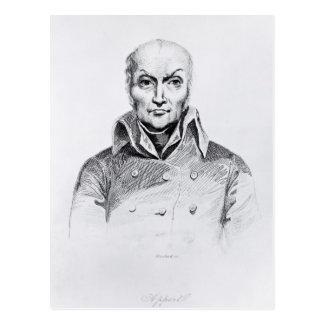 Portrait of Nicolas Appert Postcard