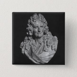 Portrait of Nicolas Boileau 15 Cm Square Badge