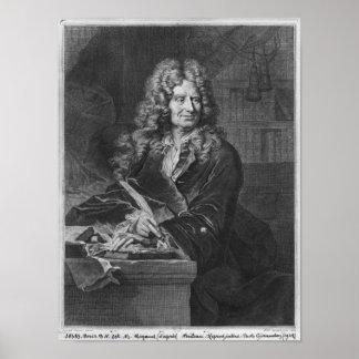 Portrait of Nicolas Boileau Poster