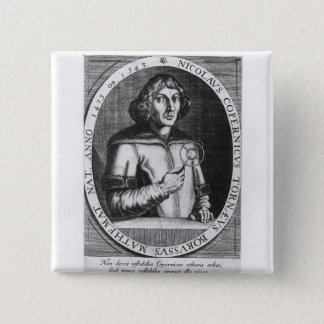 Portrait of Nicolas Copernicus 15 Cm Square Badge