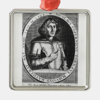 Portrait of Nicolas Copernicus Christmas Ornament