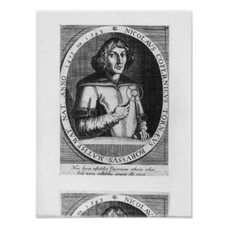 Portrait of Nicolas Copernicus Poster
